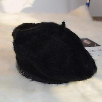 Wool Berets French Artist Beret/ Hat Vintage Berets Female Warm Walking Cap