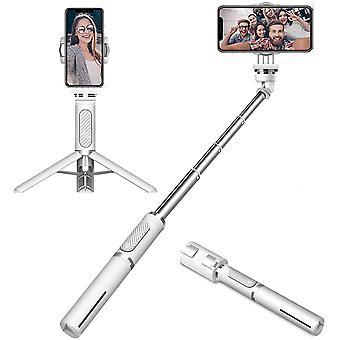 HanFei Smartphone Gimbal Stabilisator, 1-Achsen Handheld Selfie Stick Stativ mit Bluetooth