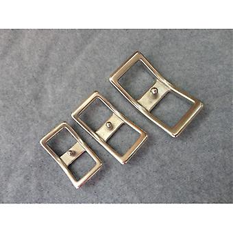 Stainless Steel Buckle Horse Harness Fittings Adjustable Sexy Buckle