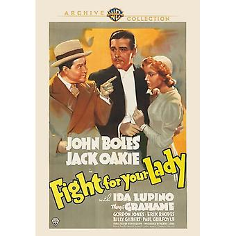 Fight for Your Lady [DVD] Usa tuonti