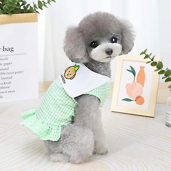 Sommar söt frukt klänning husdjur kostym