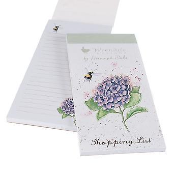 Wrendale Bee y lista de compras florales