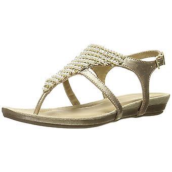 Kenneth Cole reação das mulheres perdeu o caminho aberto Toe casual tornozelo cinta sandálias