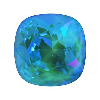 Kryształ Swarovskiego, #4470 Poduszka Fancy Stone 12mm, 1 Kawałek, Crystal Laguna DeLite