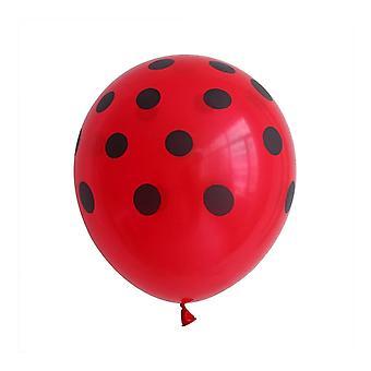 Juhla syntymäpäivä juhla ilmapallot koristeet 100kpl 12 tuuman polka piste lateksi
