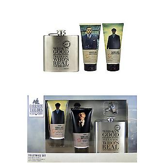 Garrison Tailors Peaky Blinders Toiletries Set - Body Wash 100ml After Shave Balm 100ml an