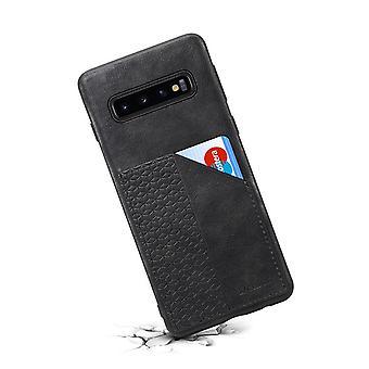 חריץ לכרטיס מארז עור ארנק עבור Huawei p30pro שחור no714