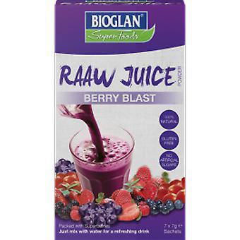 Bioglan - Raw Juice - Berry Blast 7g x 7