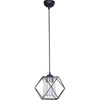 Chandelier Z-profile Single Black Special Design Lighting Stylish Indoor Lamp
