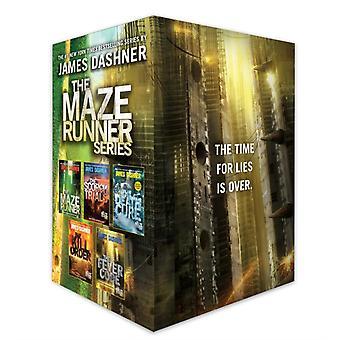 Labyrinttijuoksijasarjan täydellinen kokoelma boxed set 5book kirjoittanut James Dashner