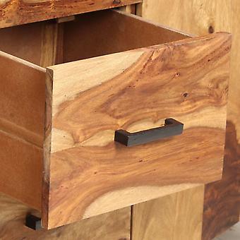 vidaXL Sideboard 145x40x80 cm Massivholz