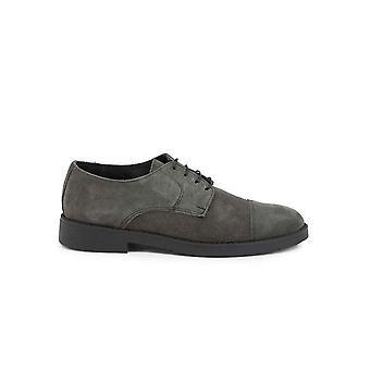 Duca di Morrone - Shoes - Lace-up shoes - 900D-CAMOSCIO-GRIGIO - Men - dimgray - EU 43