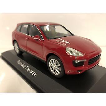 Maxichamps 940063200 Porsche Cayenne Red 2014 Scale 1:43