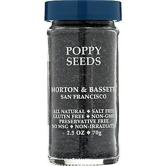 Morton & Bassett Poppy Seed, Case of 3 X 2.5 Oz