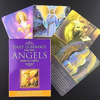 جديد 44pcs ts57 النسخة الإنجليزية التارو الملاك العلاج أوراكل بطاقات التارو sm37518