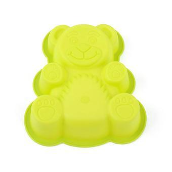 Söt björnkaka mögel mjuka silikon kex mögel pudding ost tillverkning verktyg