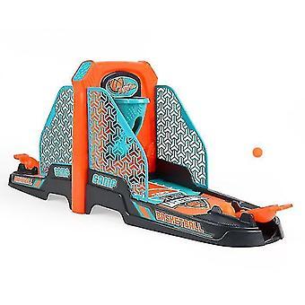 Koripallo ammunta peli lelu, pöytäpöytä koripallopelit asetettu koripallokenttä (GROUP3)