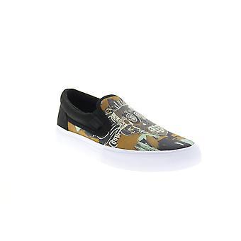 DC Voksen Mens Basquiat Manuell Slip Samarbeid &Begrenset Sneakers