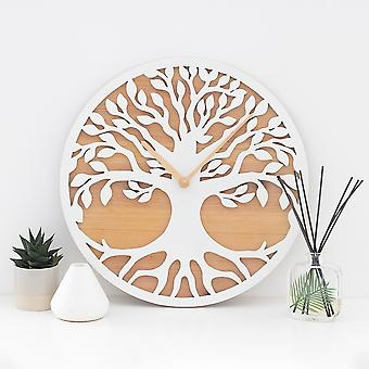 Something Different Tree Of Life MDF Cut Out Wall Clock
