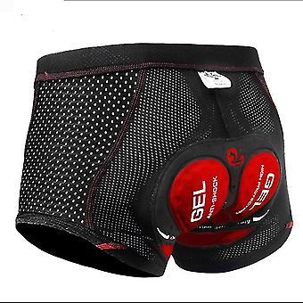 Fahrrad Shorts Unterwäsche - Pro 5d Gel Pad - Stoßfeste Fahrrad Unterhose -