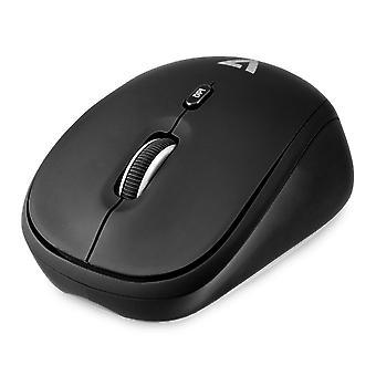 Draadloze muis V7 MW100-1E zwart
