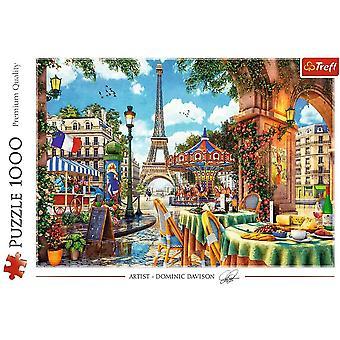 Parisian Morning Jigsaw Puzzle 1000 Pieces