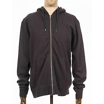 Colorful Standard Organic Cotton Hooded Jacket - Lava Grey