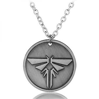 The Last Of Us Left Behind Alloy Pendant Necklaces Beads Chain Vintage Necklace Collar Unisex For Fans Gift