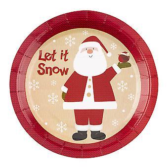 Let it Snow - Joulupukki - Lautaset