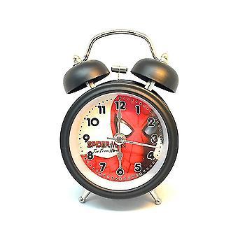 Alarm clocks avengers deadpool metal alarm clock cartoon dual bell