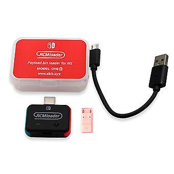 Új hordozható Rcm loader + Rcm Jig Kit Nintendo Switch Ns Hbl Os Sx hasznos teher Usb Dongle Nsrcmhblu lemez