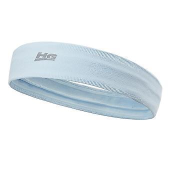 Non Slip Yoga Sports Headband Moisture Wicking Silicone Stripe Fitness Hair Band