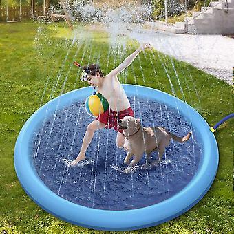 Seeunique Sprinkler Pad & Splash Play Mat Kleinkind Wasser Spielzeug Spaß für 3 4 5 6 Jahre Alter Junge Mädchen, Kinder Outdoor Sommer Spielzeug
