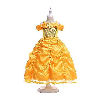 Robe d'anniversaire Princess Dress Costume Halloween Cosplay Robe de vacances