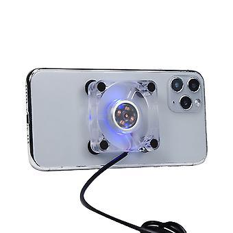 携帯携帯電話クーラーUSB冷却パッドクーラーファンゲームパッドゲームゲームシューターシューターミュートラジエーターコントローラヒートシンク