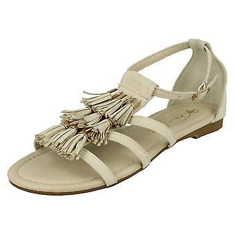 Spot de dames sur gland détail Open Toe sandales F0962