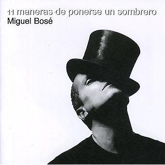 Miguel Bose - en gång Maneras De Ponerse Un Som [CD] USA import