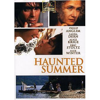 Haunted zomer [DVD] USA import