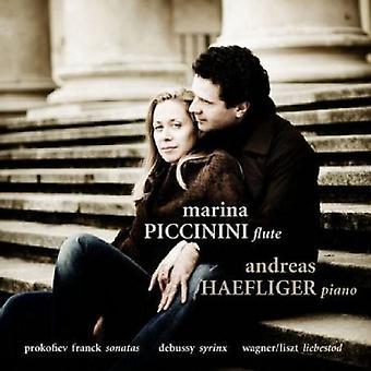 Prokofiev/Debussy/Franck - Prokofiev, Franck: Sonatas; Debussy: Syrinx; Liszt: Liebestod [CD] USA import