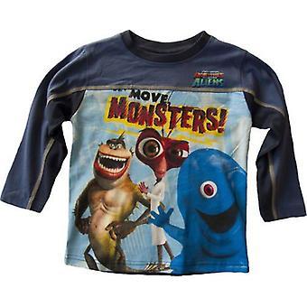 Boys Disney Monsters Long Sleeved Top