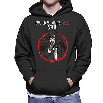 Papa Legba Wants Your Soul American Horror Story Coven Men's Hooded Sweatshirt