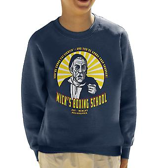 Micks Boxing School Rocky Kid's Sweatshirt