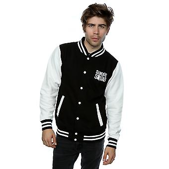 Suicide Squad Men's Joker Icon Varsity Jacket