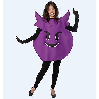 Devil emoticon smilie Smiliekostüm costume one size