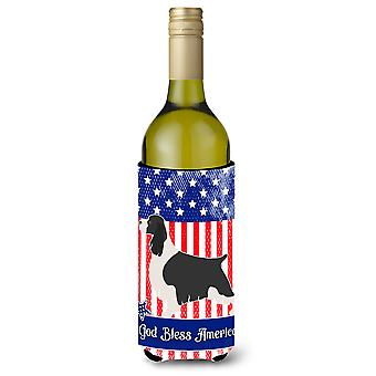 English Springer Spaniel American Wine Bottle Beverge Insulator Hugger