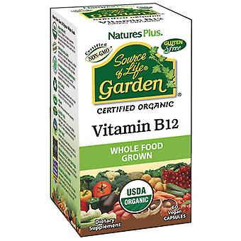 Natures Plus Source Of Life Garden Vitamin B12 60Vcaps
