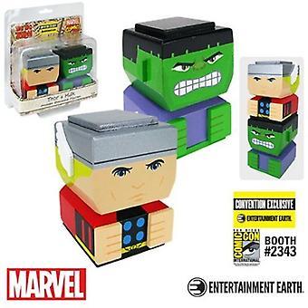 Thor & Hulk klassiska Tiki Tiki Totem ställa Ee Excl USA import