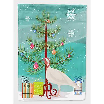 Beltsville små hvite Tyrkia høne Christmas flagg lerret huset størrelse