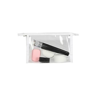 Make-up en wimpers accessoire make-up set met borstels en sponzen