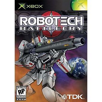 Robotech Battle Cry (Xbox)-nieuw
